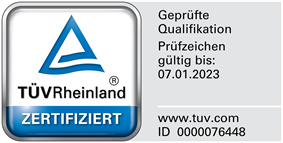 Zertifikat Datenschutzauditor (TÜV)